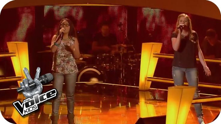 Battle: Burn (Ellie Goulding) | The Voice Kids 2014. These 2 girls sound incredible together!!!!!!!!!!