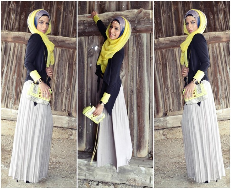 Saman's Makeup & Hijab Styles