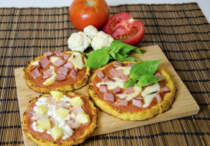 Pizza těsto z květáku