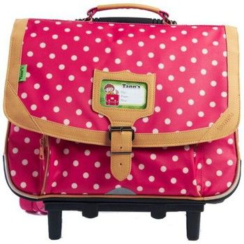 Cartable Trolley Tann's Corail HERITAGE POIS T4HEPO-TCA38-CO Rose 38cm prix Cartable à Roulettes Spartoo 92.29 €
