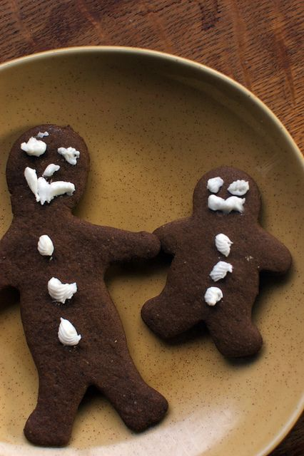 gluten-free gingerbread men. save this one for christmas.