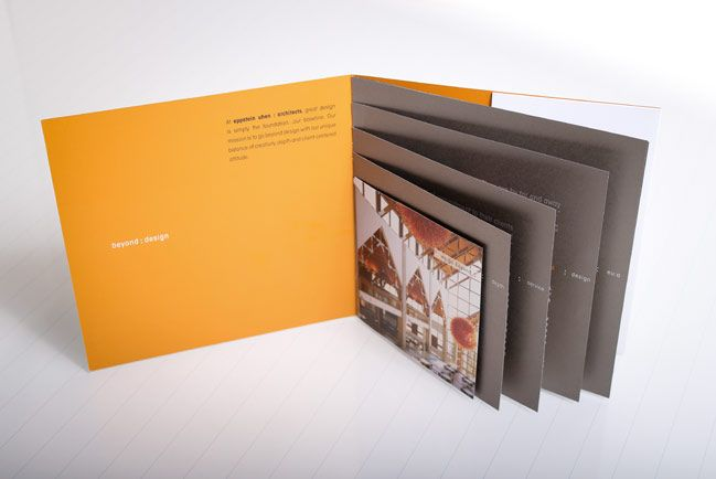 Capabilities brochure for architecture firm eu a eppstein for Marketing for architects and designers