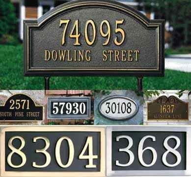 Address plaques outdoor summer pinterest outdoor for Location plaque garage