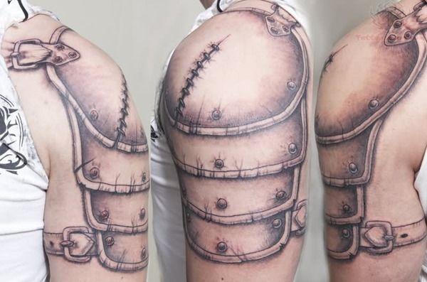 Amazing Armor Tattoos for Men (1)