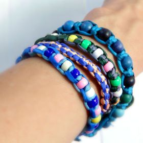 Shambala - friendship bracelet! Learn how to make it following our simple instructions.