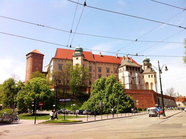 Die Burg Wawel in Krakau