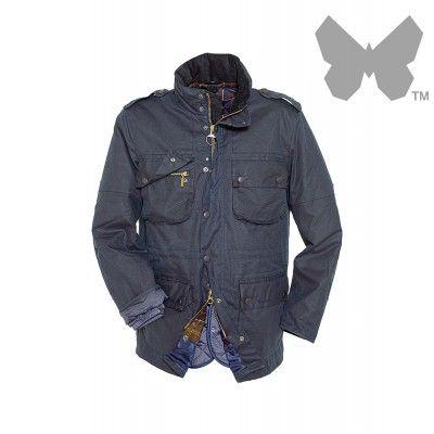Barbour Men's Fieldmarshall Jacket – Navy - MWX0559NY71