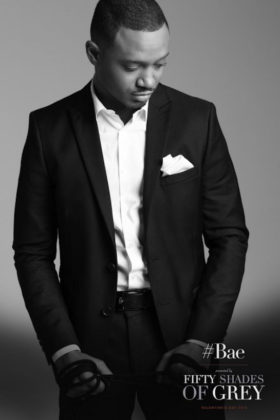 Terrence J, from Rocky Mount, NC!   Fifty Shades of Grey Campaign by Lance Gross