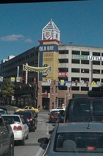 Old Bay Parking Garage | Baltimore Inner Harbor, MD