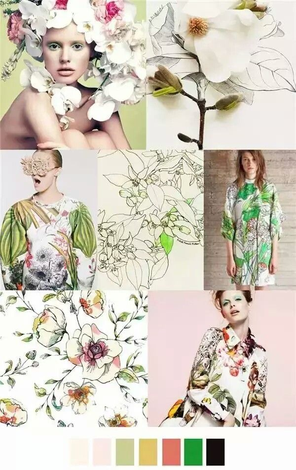 9  | floral | | floral print and patterns | http://www.thinkcreativo.com/
