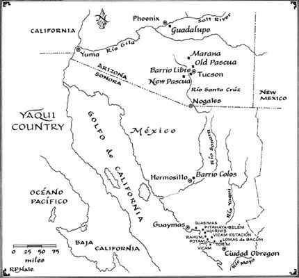 Yaqui Country    Google Image Result for http://www.yoemecarver.com/images/Map-400.jpg