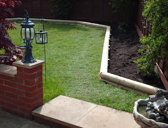 Landscape Timber Borders Timber Sleepers Used In