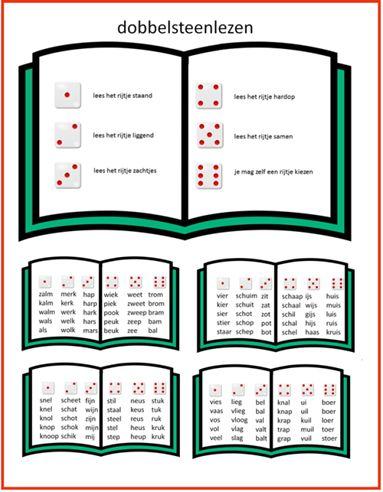 Lijn 3, dobbelsteenlezen te gebruiken bij Thema 5 - Digibord Onderbouw