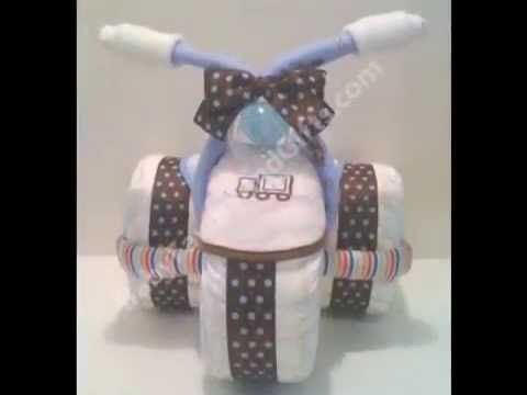 Tricycle diaper cakes | HubPages