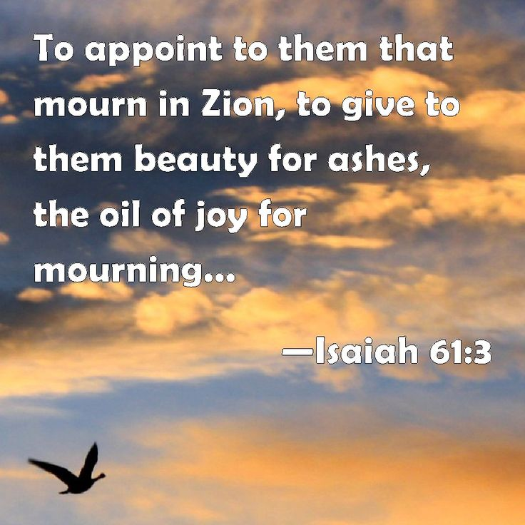 Mourning Quotes Bible
