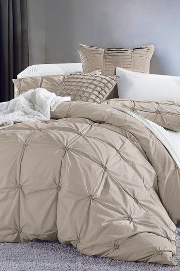 Melange Home Epoque Taupe Duvet Set by Melange Home on @HauteLook