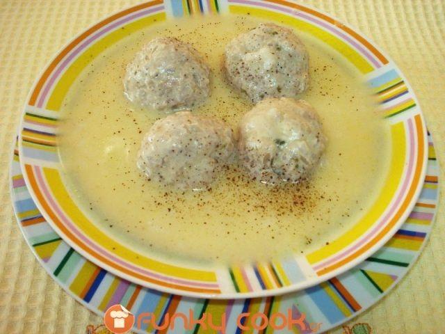 Σούπα Γιουβαρλάκια με Σάλτσα Αυγολέμονο Βελουτέ | Funky Cook