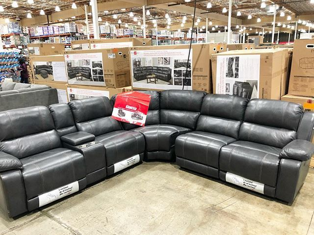 Huge Leather Power Reclining Sectional Only 1 899 99 Great