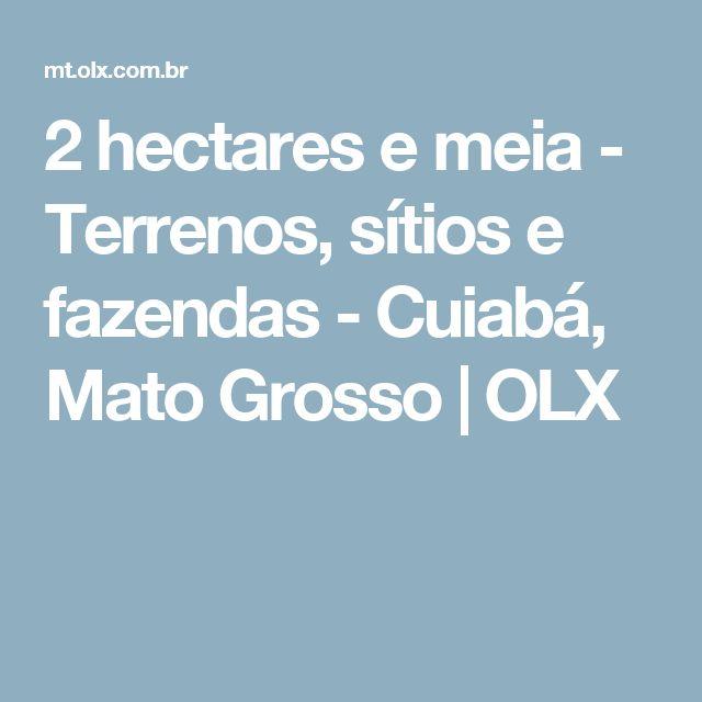 2 hectares e meia - Terrenos, sítios e fazendas - Cuiabá, Mato Grosso | OLX