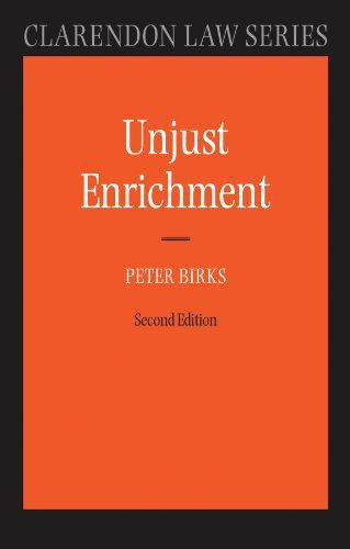 Unjust Enrichment (Clarendon Law Series). The fourth question is then what kind of right the claimant has, and the fifth is whether the defendant has any defences. It attempts to move away from the use of obscure terminology inherited from the past. This text is the first book to insist on the switch from restitution to unjust enrichment, from response to event. Format: Kindle eBook. This new edition of Unjust Enrichment by the editor of the Clarendon Law Series, is a fully updated,...