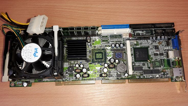 ISA Slot Single Board Computer Pentium 4 with 3 GHz + 2GB RAM for Amiga 2000