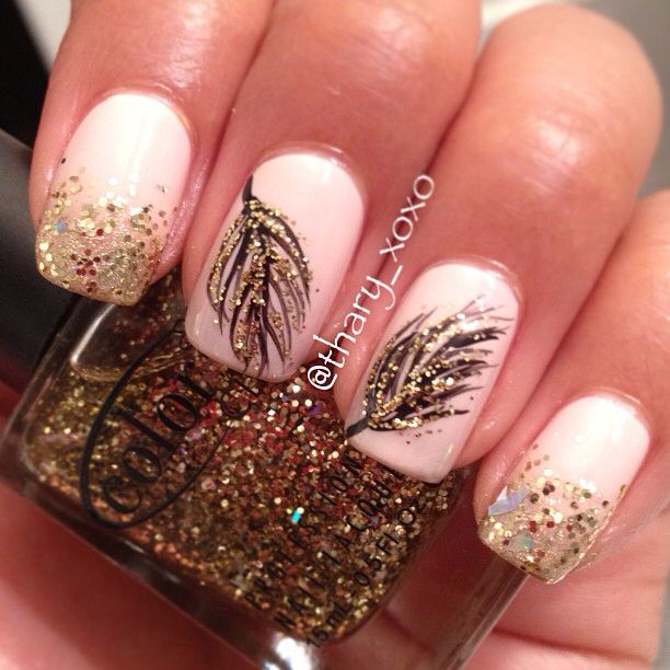 Glitter and feathers! Ahhh love
