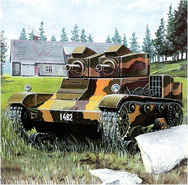Vickers E 6-Ton Mark E Type A.