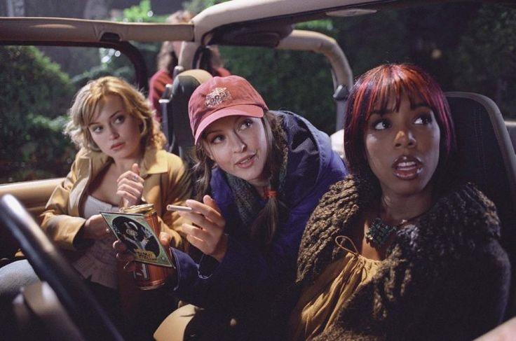 Katharine Isabelle, Monica Keena, and Kelly Rowland in Freddy vs. Jason (2003)