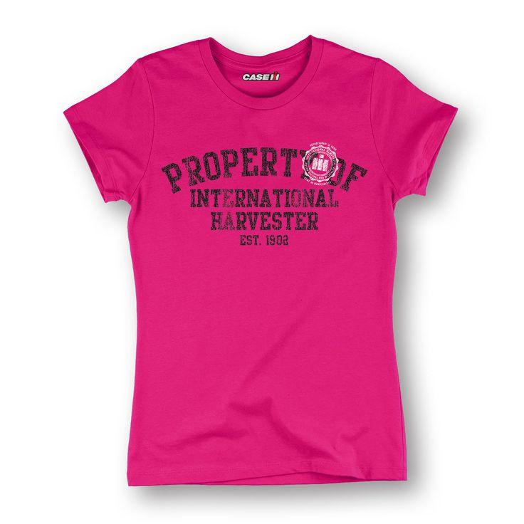 Property of International Harvester Hot Pink Women's T-Shirt