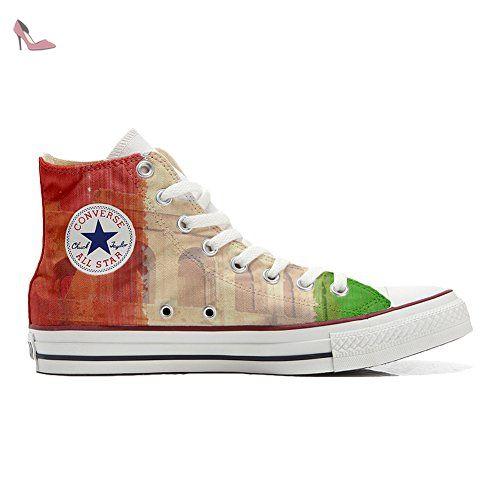 Converse Sur Mesure - Chaussures (produit Artisanal) Avec L'oeil - Tg42 J3ppLhPPSS