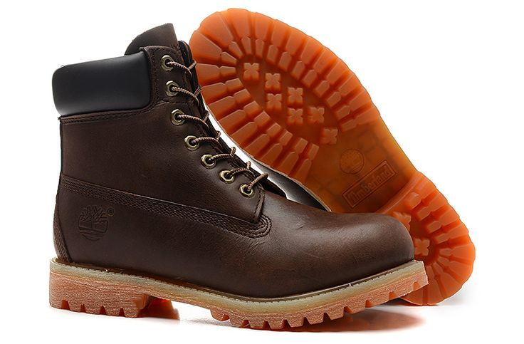 Timberland boots for men Timberland 6 inch Brown leather Classic Waterproof shoes.jpg (800×525)