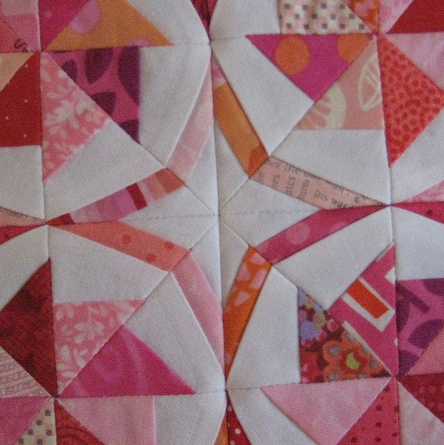I love quilts with amazing secondary designs!!