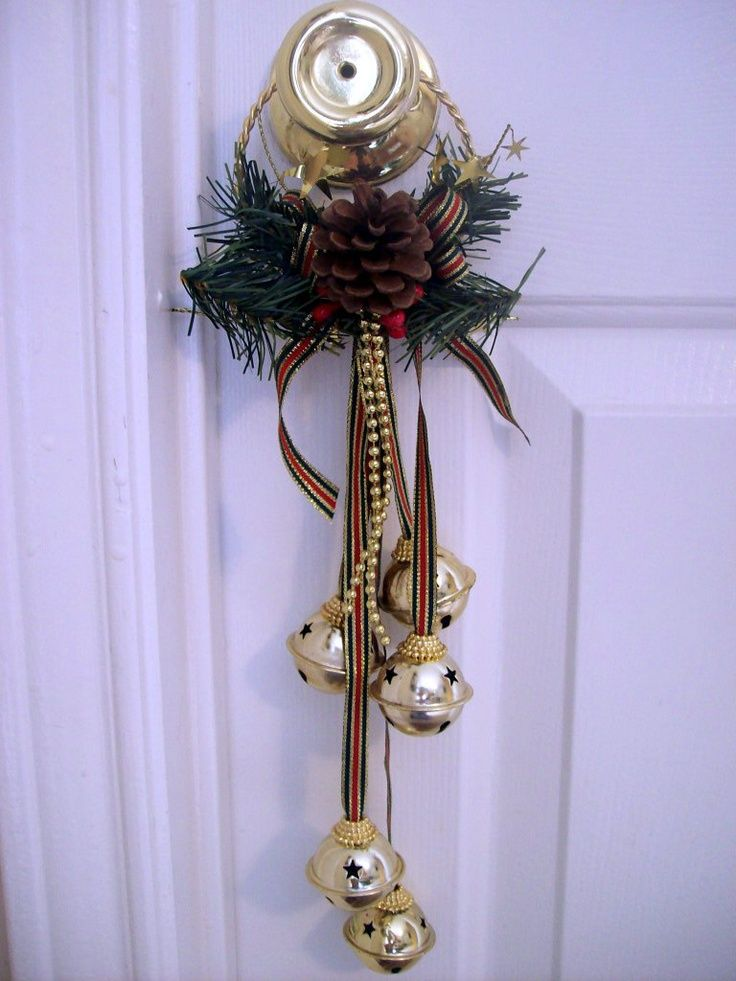 Bell Decor Inspiration 133 Best Xmas ~ Bells Images On Pinterest  Diy Christmas Decorating Design