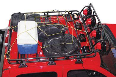 Smittybilt Defender Roof Rack - Best Price on Defender Roof Basket  Roof Racks for Trucks  SUVs