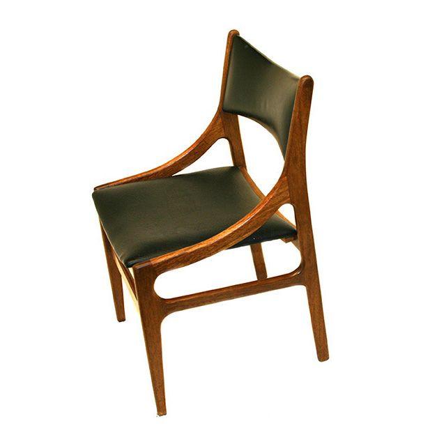 davintage VES14 H Vestervig Eriksen style dining chair teak 1960s 5