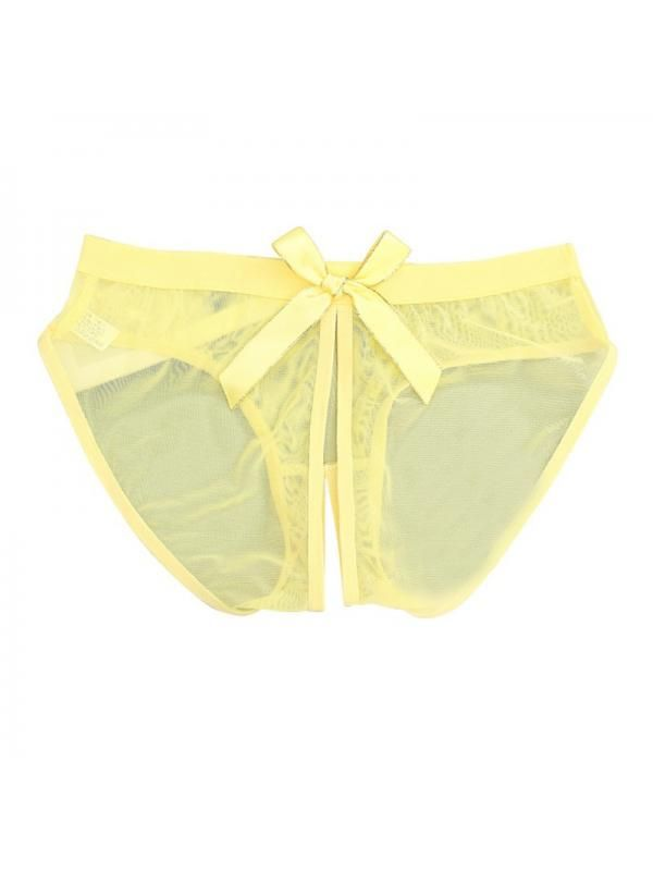 82f66ab297 Big Clearance Ropalia Sexy Women Low Waist Lace See-Through Expose Underwear  Briefs