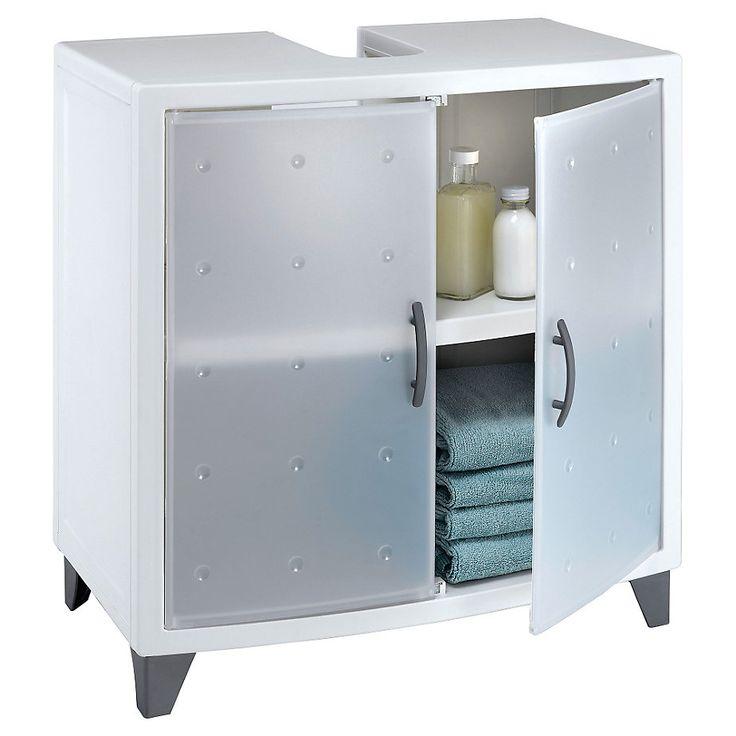 Mueble Baño Omega 58 x 33 x 62 cm Blanco-Sodimac.com