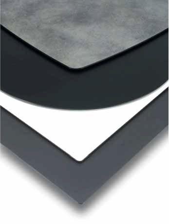 BM 018 - blaturi ideale pentru terasă. BM 018 - table tops ideal for terraces.
