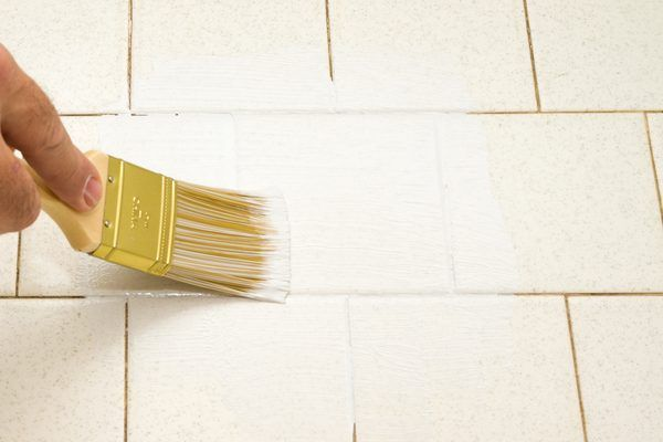 How to Paint a Ceramic Tile Floor (with Pictures) | eHow