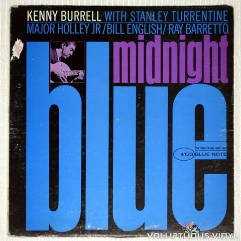 Kenny Burrell ‎– Midnight Blue #bop