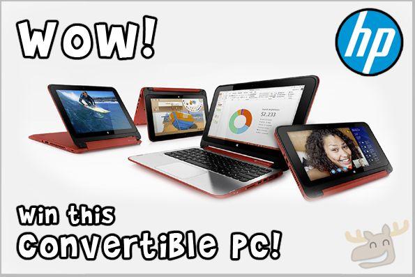 Bargainmoose Contest: Win an HP Pavilion Convertible PC!  @bargainmoose