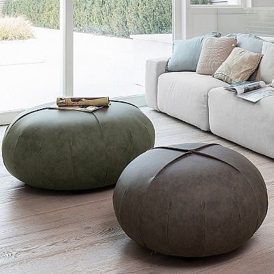 Elegant, ultramodern 'Point' pouf. Beautiful comfortable, great for every room. An amazing decoration for your place. My Italian Living.