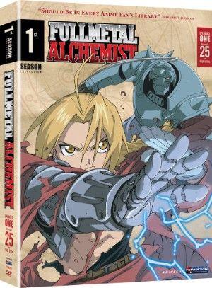 Fullmetal Alchemist Season 1 DVD Box Set (Hyb) - Viridian Collection $18.49 at RightStuf.com.