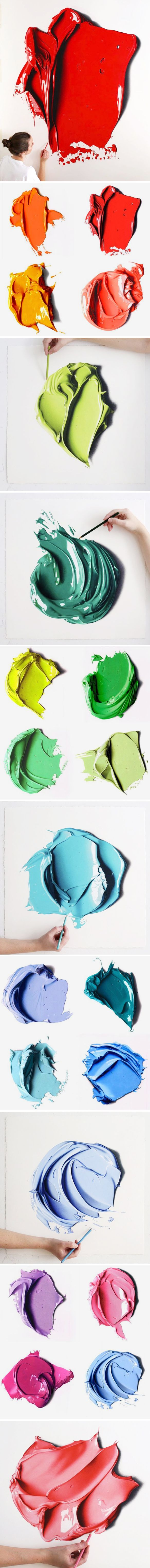 DRAWINGS (!?) ... color pencil drawings by cj hendry