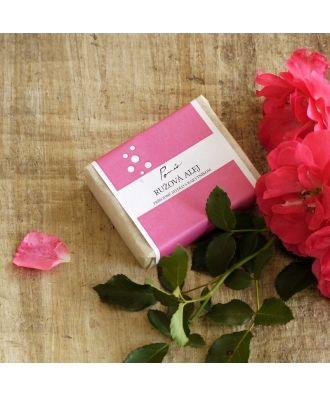 Přírodní mýdlo Růžová alej s rakytníkem Ponio