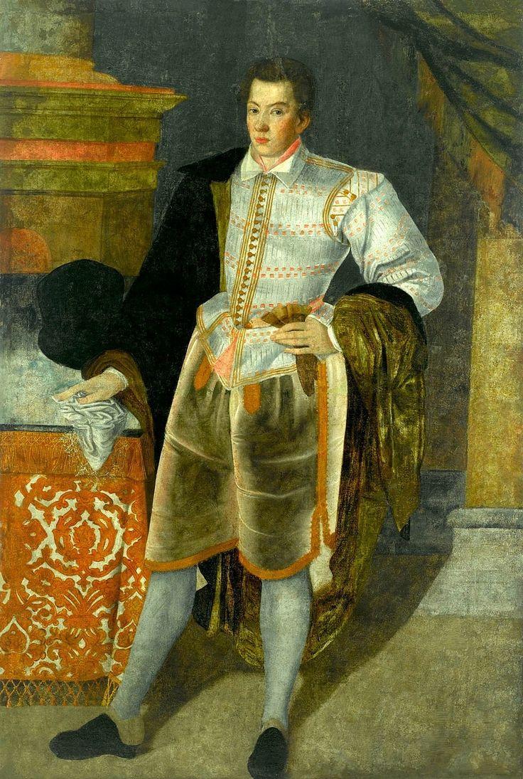 Portrait of Stanisław Lubomirski (1583-1649) by circle of Tommaso Dolabella, ca. 1597 (PD-art/old), Muzeum Pałacu Króla Jana III w Wilanowie