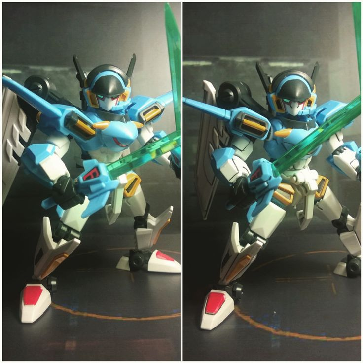 LBX Ikaros Force before and after lining