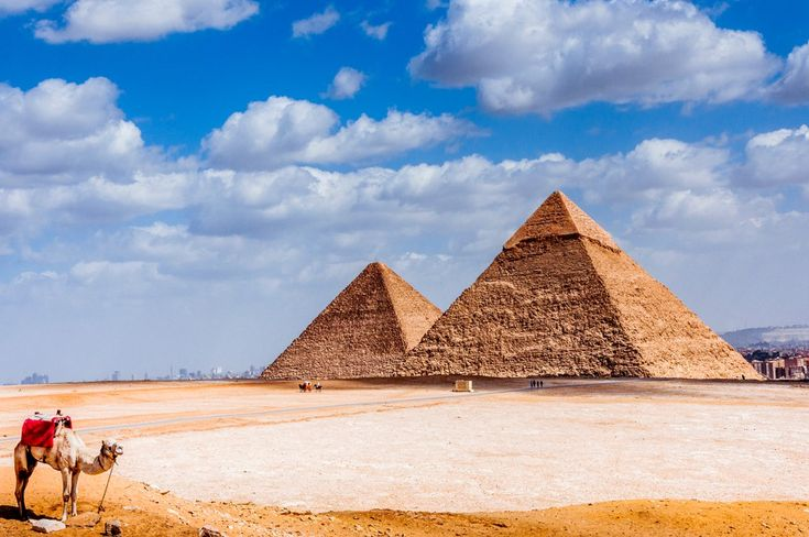 Giza Pyramids Complex that holds the three Pyramids Reservation@tours… Whatsa…