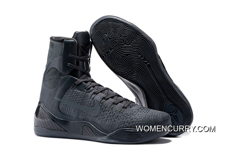 www.womencurry.co... NIKE KOBE 9 ELITE FTB ANTHRACITE/ANTHRACITE BASKETBALL SHOES RELEASE NEW STYLE Only $102.60 , Free Shipping!