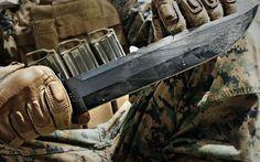 Ka-Bar USMC Survival Knife Review